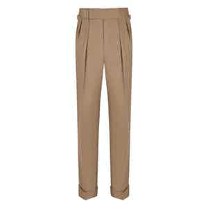 Stone VBC Gabardine Cocktail Suit Trousers