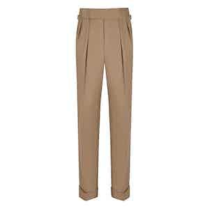 Stone VBC Gabardine Cocktail Suit Trousers