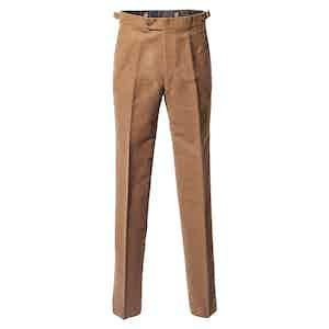 Brown Moleskin Trousers