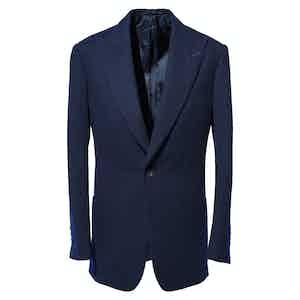 Navy Cashmere Jacket