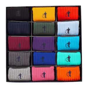 Simply Sartorial, 15-Pair Sock Collection
