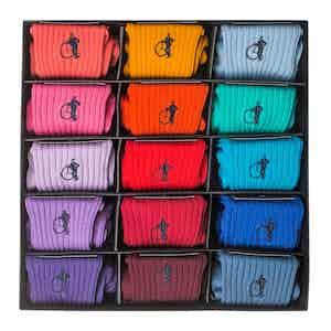 Simply Sartorial, Colourful 15-Pair Sock Box
