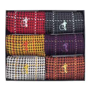 Ottaway Style, 6 Pair Sock Gift Set
