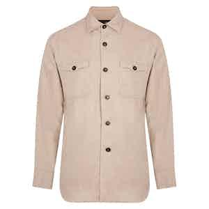Fawn Beige Overshirt