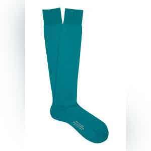 Country Long Merino Wool Ribbed Socks