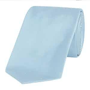 Light Blue Shantung Tie