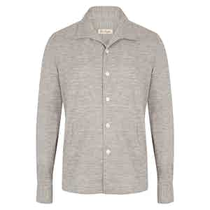 Light Grey Overshirt