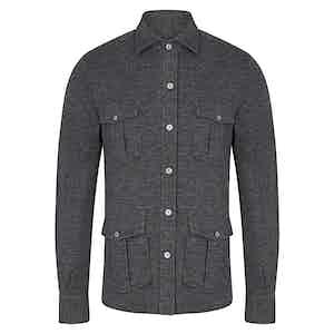 Dark Grey Overshirt