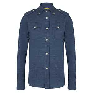 Navy Overshirt