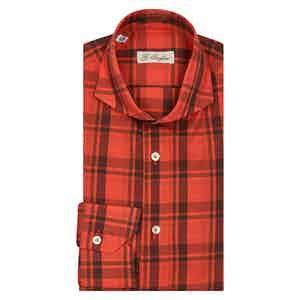 Red Check Francese Shirt