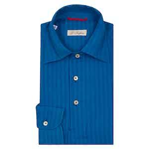 Blue Shadow Striped Shirt