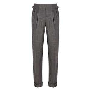 Charcoal VBC Flannel Sexton House Trousers