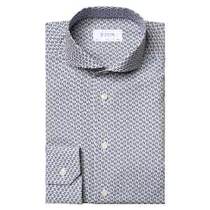 Jazz Dance Print Slim Fit Shirt