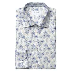 Watercolour Paisley Contemporary Fit Shirt