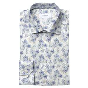 Watercolour Paisley Contemporary Fit Shirt