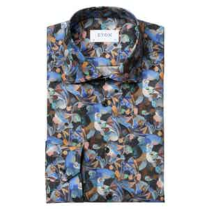 Retrofuture Print Slim Fit Shirt