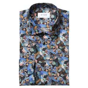 Retrofuture Print Contemporary Fit Shirt