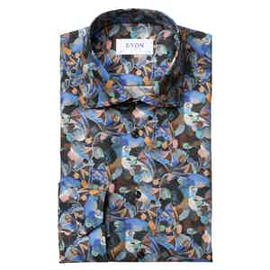 Retrofuture Print Contemporary Fit Shirt