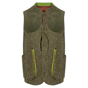 Heath Donegal Lucan Gilet with Leather