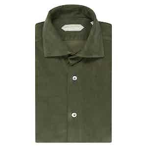Emerald Green Cotton Shirt