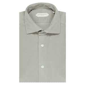 Light Beige Cotton Shirt