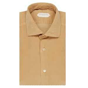 Butterscotch Yellow Cotton Shirt