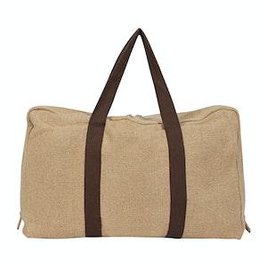 Natural Irish Linen Cabin Bag