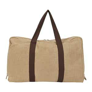 Natural Irish Linen Cabin Bag
