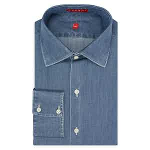 Blue Denim Cotton Shirt