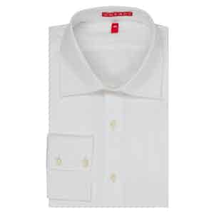 White Italian 200s Cotton White Shirt