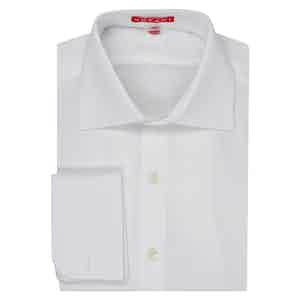 White Swiss Cotton White Shirt