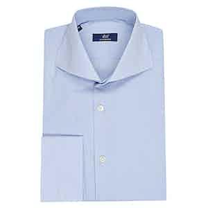 Azure Micro Stripe Shirt