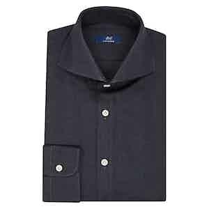 Aegean Blue Cotton Shirt