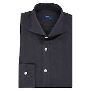 Aegean Blue Cotton Shirt