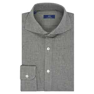 Light Grey Cotton Casual Shirt