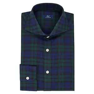 Blue and Green Tartan Shirt