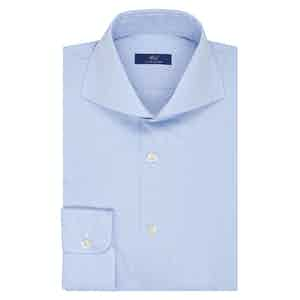 Light Blue Micro Stripe Business Shirt