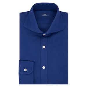 Royal Blue Cotton Shirt