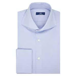 Azure Oxford Cotton Shirt