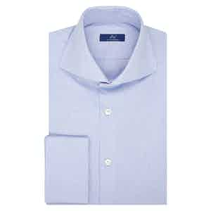 Azure Oxford Cotton Shirt