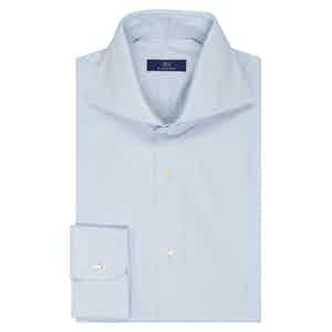 Light Blue Celeste Cotton Shirt