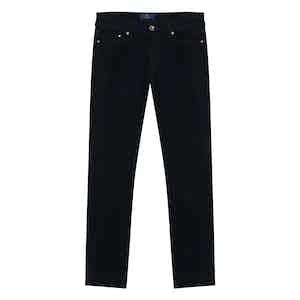 Navy Corduroy Trousers