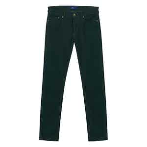 Dark Green Corduroy Trousers
