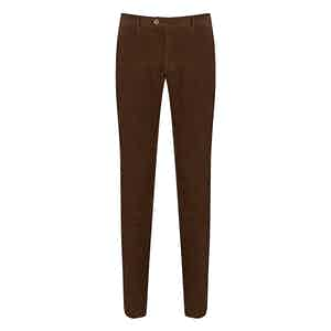 Brown Corduroy Chino