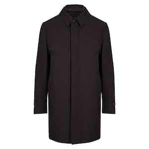 Chocolate Brown 3-in-1 Detachable Vest Raincoat