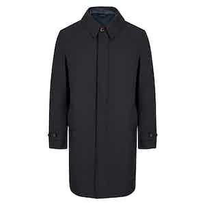 Navy 3-in-1 Detachable Vest Raincoat
