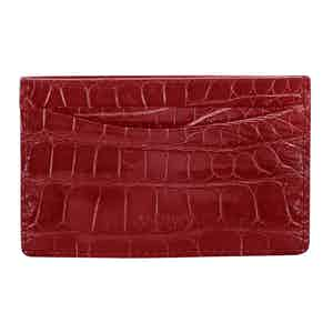 Strawberry Bond St Card Slip Case
