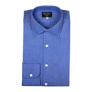 Denim Twill Brushed Cotton shirt