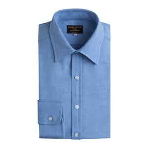 Blu Cotton Cashmere Cashmerello Shirt