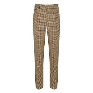 Brown Gunclub Wool Trousers